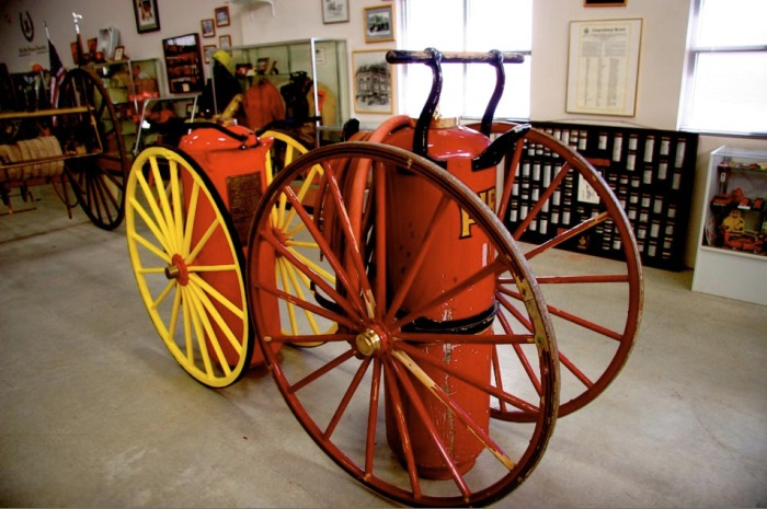 1915 First Firefighter Engine in Tooele Utah