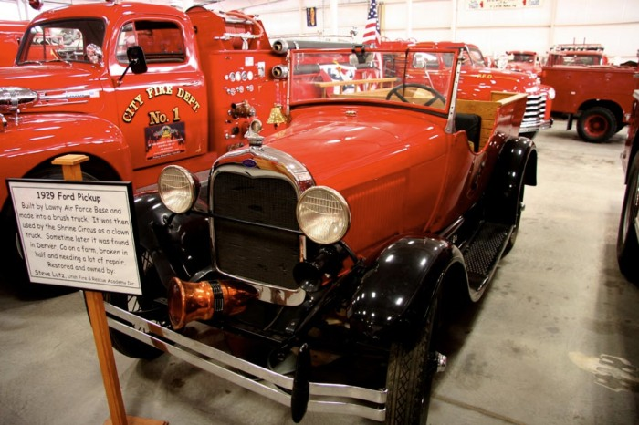 1929 Ford Pickup at Utah Museum of Fire Service History and Firefighter Memorial
