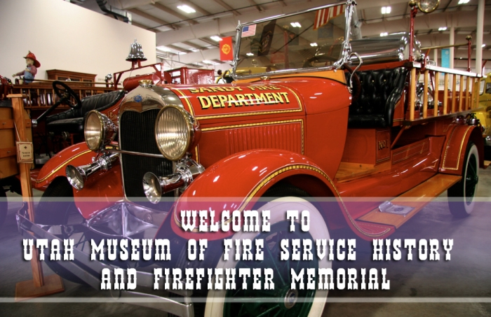 Firefighter museum Tooele Utah 2014 - Entrance